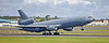 US Air Force McDonnell Douglas KC-10A (85-0034) at Prestwick Airport - 9 August 2018