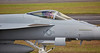 US Navy F-18 Super Hornet at Prestwick Airport - 2 July 2016
