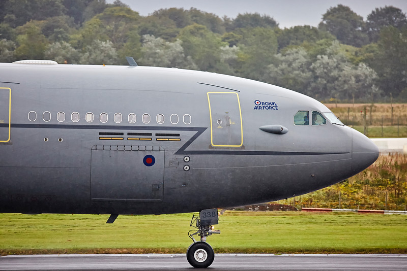 RAF Airbus KC2 Voyager (ZZ338) at Prestwick Airshow - 3 September 2016