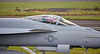 F/A-18E Hornet at Prestwick Airport - 21 August 2015