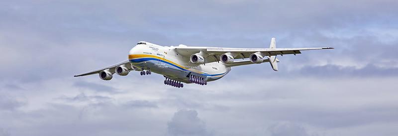Antonov AN-225 MRIYA (UR-82060) at Prestwick Airport - 2 August 2020
