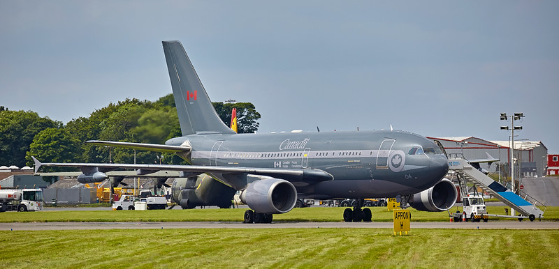 Canadian Armed Forces Airbus A310-304 (15004) at Prestwick Airport - 7 July 2016