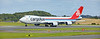 Cargolux Airlines International Boeing 747-4EVERF (LX-NCL) 35170 at Prestwick Airport - 29 July 2020