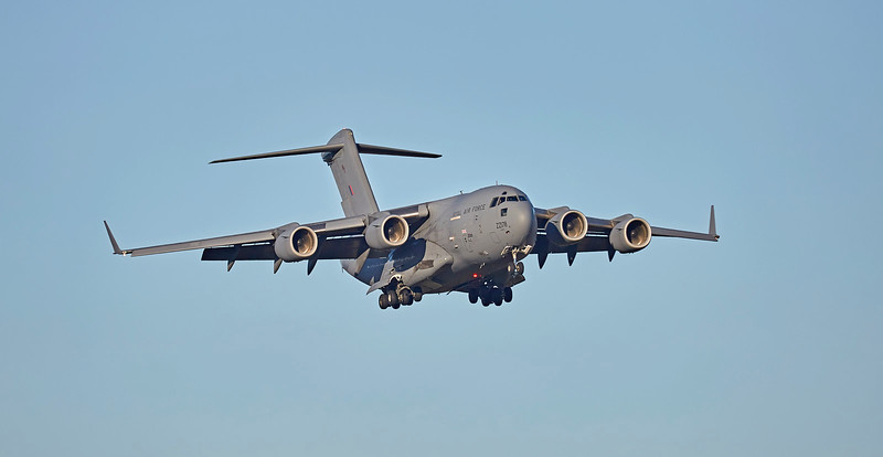 Boeing C-17A Globemaster III (ZZ178) at Prestwick Airport - 21 January 2017