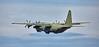 Lockheed C-130J-30 Hercules (ZH869) departing Prestwick Airport - 7 July 2016