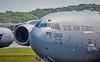 Boeing C-17A Globemaster III (99-0168) at Prestwick Airport - 5 June 2016