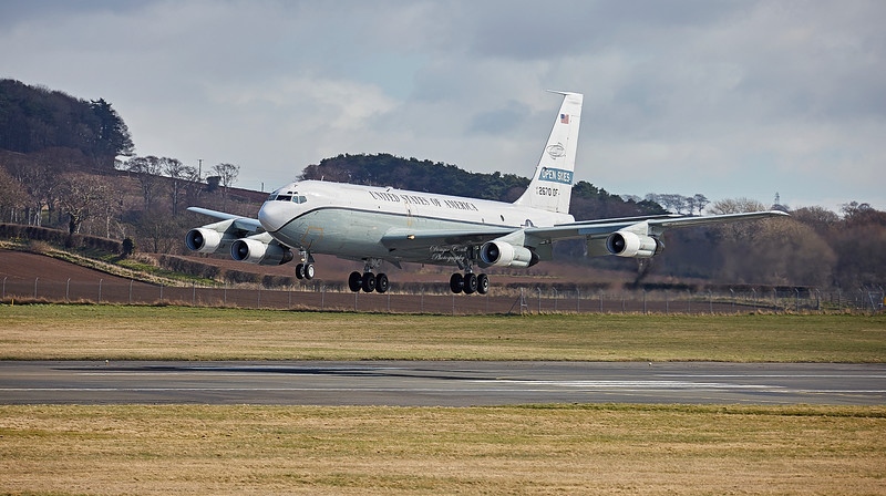 Boeing (OC-135) Open Skies at Prestwick Airport - 5 April 2018