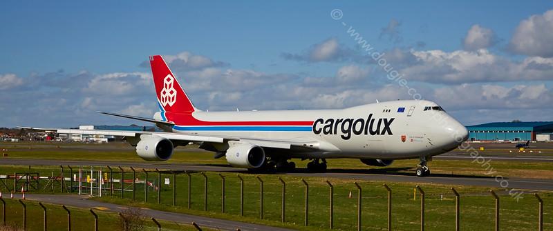 Boeing 747 - (35822) - LX-VCI Airline Cargolux at Prestwick Airport - 15 April 2015