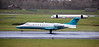 Ryanair Bombardier Learjet 45 (M-ABGV) at Prestwick Airport - 8 December 2020