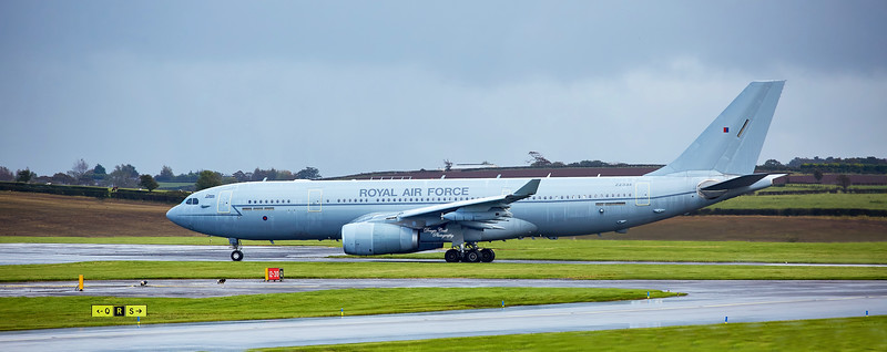 Airbus A330-243 Voyager KC.3 (ZZ334) at Prestwick Airport - 8 October 2020