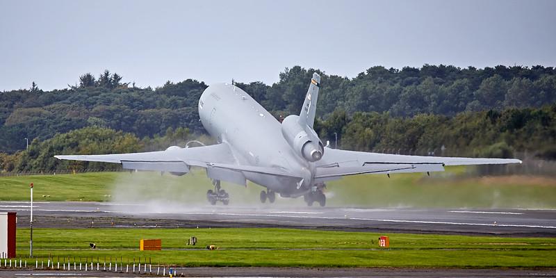 US Air Force McDonnell Douglas KC-10A Extender (79-0433) at Prestwick Airport - 30 August 2018