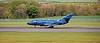 Dassault Falcon 20D (G-FRAK) at Prestwick Airport - 11 October 2019