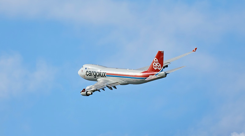 Cargolux Airlines International Boeing 747-4HAERF (LX-LCL) at Prestwick - 2 August 2020