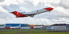 Oil Spill Response Boeing 727-2S2F (G-OSRV) at Prestwick Airport - 14 October 2020