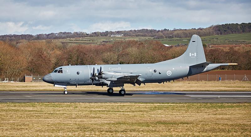 Canadian Air Force Lockheed CP-140 Aurora (140103) at Prestwick Airport - 5 April 2018