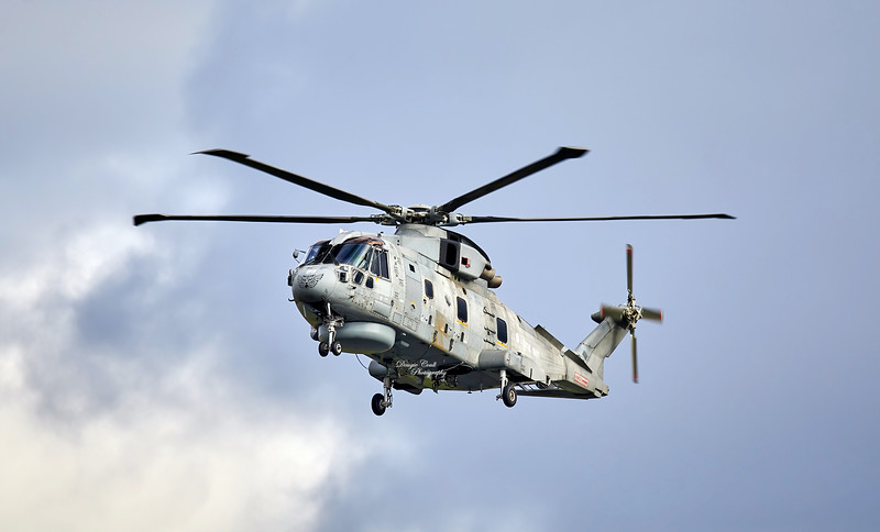 Royal Navy Agusta-Westland Merlin HM.2 (ZH847) at Prestwick Airport - 29 July 20200