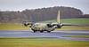 RAF Lockheed Martin Hercules C.4 (ZH870) at Prestwick Airport - 8 December 2020
