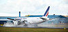 Air France Boeing 777 (F-GUOB) at Prestwick Airport - 10 February 2016