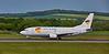 Boeing 737 West Atlantic/NPT (G-JMCM) at Prestwick Airport - 5 June 2016