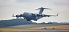 USAF United States Air Force Boeing C-17A Globemaster III at Prestwick Airport - 12 July 2018