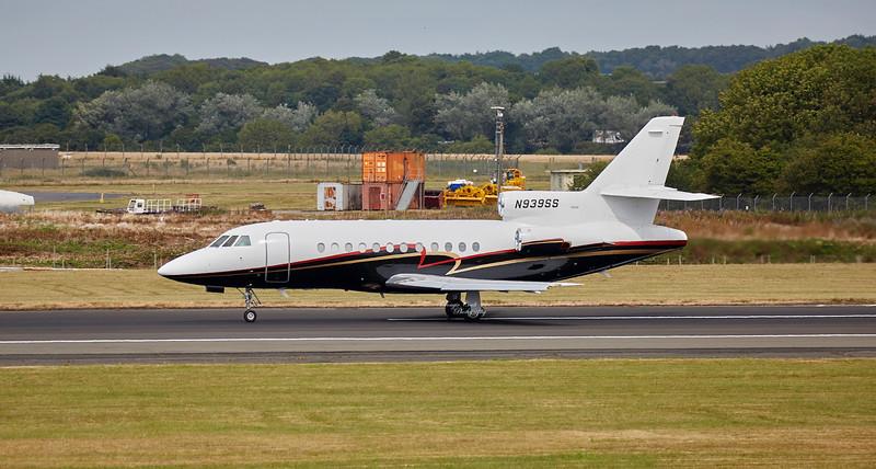 Dassault Falcon-900B (N939SS) at Prestwick Airport - 12 July 2018