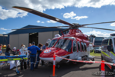Ambulance Service NSW Agusta AW139 operated by CHC Helicopters
