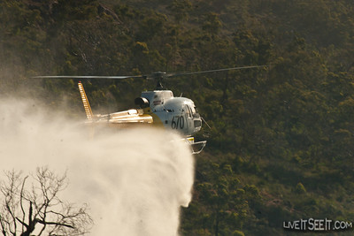 A small Scrub Fire broke out in difficult terrain on the afternoon of 23 December, prompting a 2nd Alarm Scrub Fire Response. Appliances from Kalamunda FRS, Kalamunda BFS, Welshpool FRS worked with 2 Helitacs to Control and extinguish the Fire.