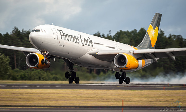 Airbus A330-343, Thomas Cook, OY-VKH