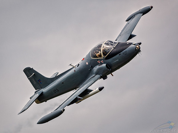 BAC 167 Strikemaster Mk 82A in Sultan of Oman's Air Force colour scheme