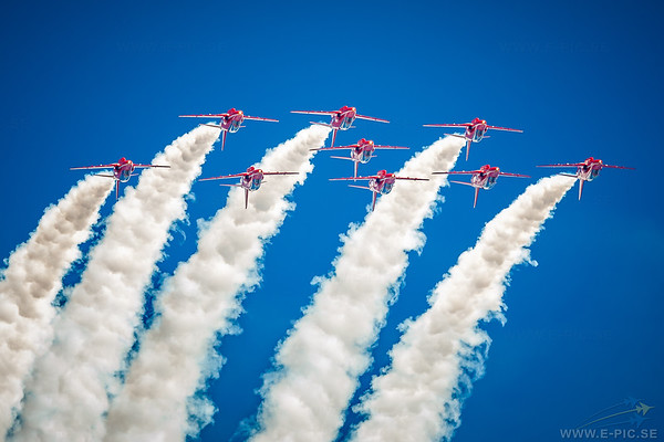 Red Arrows - British Aerospace Hawk T1A