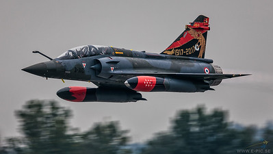 Dassault Mirage 2000D - Couteau Delta Tactical Display - French Air Force