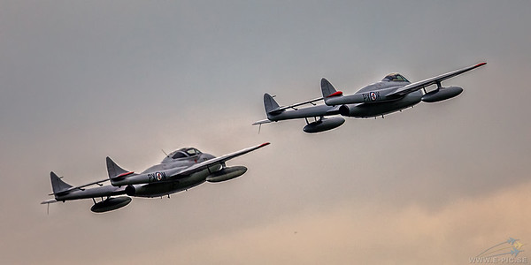 De Havilland DH115 Vampire Mk.55 and De Havilland Vampire FB.6