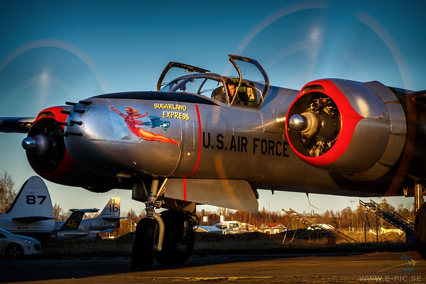 Douglas A-26B Invader, Jan Andersson