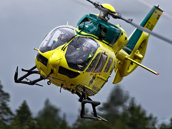 Airbus Helicopters H145 (EC 145 T2), Air Ambulance, SE-JXB