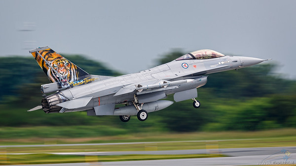F-16A block 20 MLU, Norway