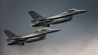 General Dynamics - F-16AM  and F-16B Fighting Falcon - Norwegian Air Force