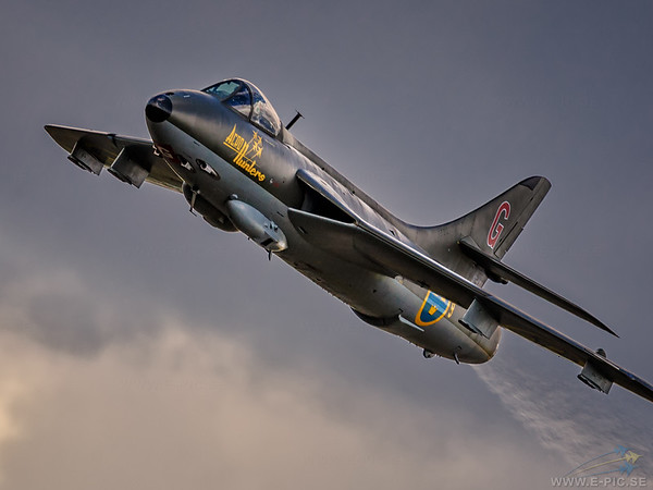 J 34, Hawker Hunter F.Mk.58.