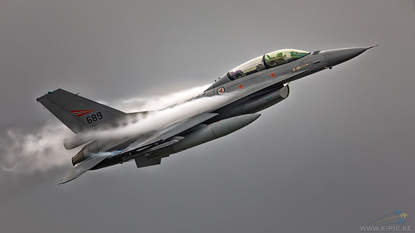 General Dynamics F-16B Block 15H, 689 - Norwegian Air Force