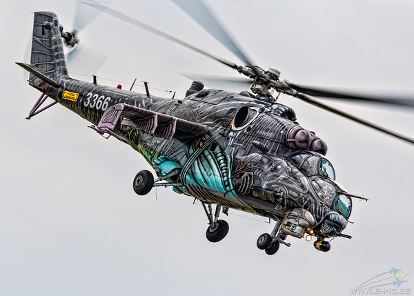 Mil Mi-24V Hind E, Czech Republic - Air Force