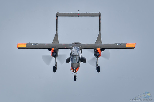 North American Aviation Rockwell OV-10 Bronco, Germany