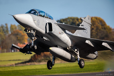 Saab JAS 39D Gripen - 835 armed with an IRIS-T