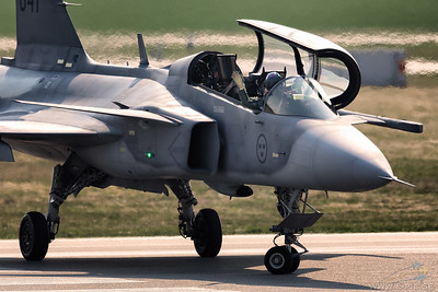 Saab JAS 39D Gripen - Swedish Air Force
