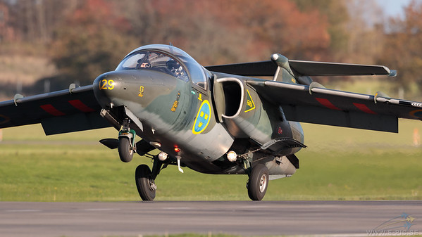 Swedish Air Force SK 60A (Saab 105) - 129