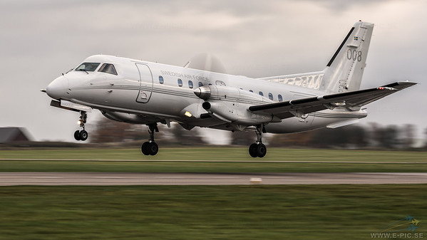 Swedish Air Force TP 100C (Saab 340B) - 008