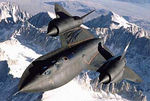 Developed in the '60s, the SR-71 Blackbird is a high-altitude, high-speed strategic recon platform.