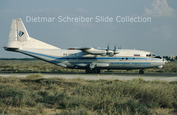 RA-12973 Antonov 12B (c/n 9346505) Tyumen Airlines