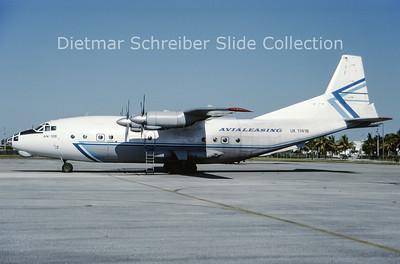 2001-08 UK-11418 Antonov 12BP (c/n 7344705) Avialeasing