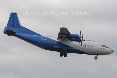 2012-07-14 UR-CGX Antonov 12 Shovkoviy Shlyah Airlines