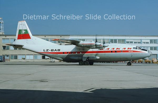 1975-10 LZ-BAB Antonov 12B (c/n 8346002) Balkan
