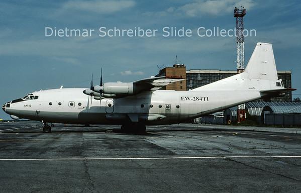 2009-07 EW-248TI Antonov 12 (c/n 6344608) Gomelavia